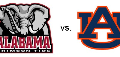 Be a Champion and Read!  Alabama vs. Auburn