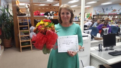 Teacher of the Year, Elaine Gray